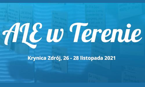 ALE. Terenie kolejna edycja unconferencji organizowanej przez ALE Kraków